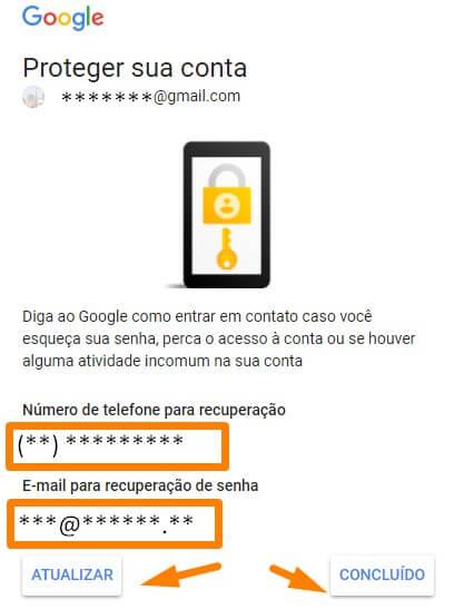 Entrar no gmail desde um novo navegador